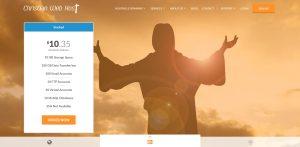 Christian Web Host Wedding WordPress Website Hosting